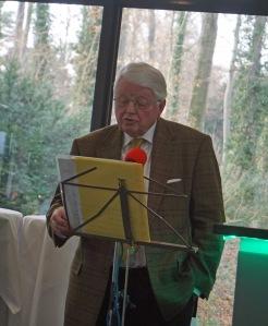 Jürgen Bergmann erzählt heitere Annektdoten