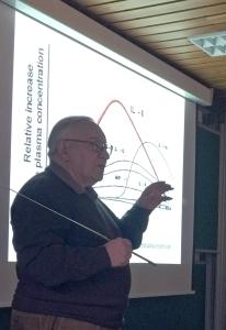 """13.01.2017 Vortrag """"Wie aktiviere ich mein Immunsystem"""" von Prof. Dr. Gerd Uhlenbruck"""